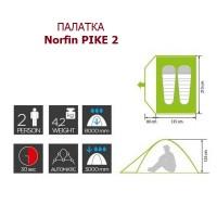 Палатка Norfin Pike 2